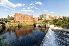 Washington vattenkraft Arkivfoto