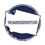 Washington vektoröversikt Arkivfoto