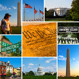 Washington Views Imagem de Stock Royalty Free