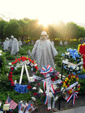 Washington War Monument Memorial Day Celebration royalty free stock photography