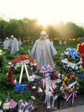 Washington War Monument Memorial Day Celebration  Royalty Free Stock Photography