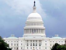 Washington white Capitol 2013 Royalty Free Stock Photo