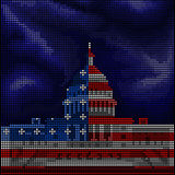 Washington - White House - Stock Images