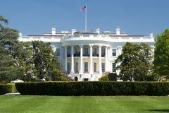 Washington White House am sonnigen Tag Stockfotos