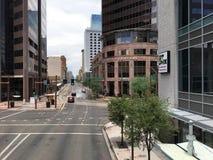 Washington zéro et central zéro, Phoenix, AZ Image libre de droits