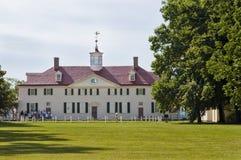 Washingtons Mount- Vernonhaus Stockfotos