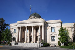 Washoe County domstolsbyggnad i Reno, Nevada Arkivbilder
