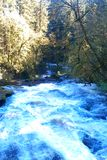 Washougal river Royalty Free Stock Photos