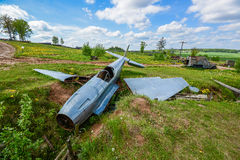 Washout on the line of Stalin.  Royalty Free Stock Photography