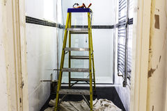 Washroom ανακαίνιση Στοκ Εικόνες