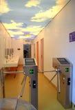 Washroom περιστροφική πύλη Στοκ φωτογραφία με δικαίωμα ελεύθερης χρήσης