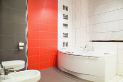 Washroom in contemporary design Royalty Free Stock Images