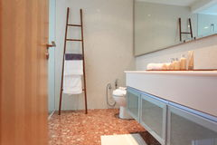Washroom in Luxury Condo in Kuala Lumpur Stock Photo
