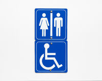 Washroom Sign Royalty Free Stock Image