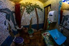 Washroom. A washroon which has a theme Royalty Free Stock Photo