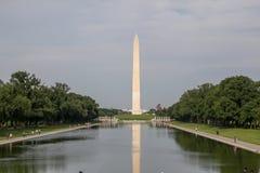 Washungton D.C.,USA-June 14,2018 - Landscape Washington monument obelisc in USA