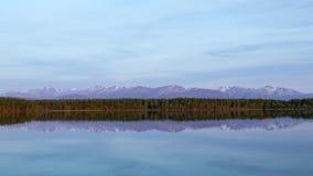 Wasilla Reflections Stock Photo