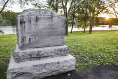 Wasington横穿纪念碑 库存图片