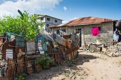 Wasini ö i Kenya fotografering för bildbyråer