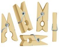 Wasknijpers vector illustratie