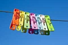 Wasknijpers Stock Afbeeldingen