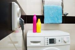 Wasmachine stock afbeeldingen