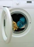 Wasmachine. Royalty-vrije Stock Afbeelding