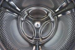Wasmachine binnen Stock Afbeelding