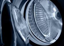 Wasmachine, close-up stock fotografie