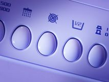 Wasmachine - detail royalty-vrije stock afbeelding