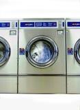Wasmachine in medio-Cyclus royalty-vrije stock foto