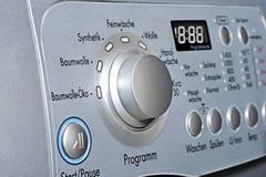 Wasmachine met automatisch Royalty-vrije Stock Afbeelding