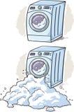 Wasmachinebeeldverhaal Stock Afbeelding