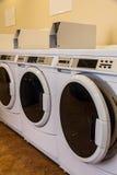 Wasmachines royalty-vrije stock afbeelding