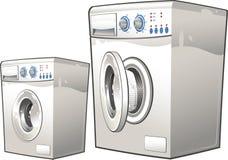 Wasmachines Stock Foto's
