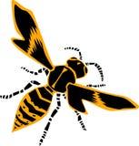 Wasp  illustration Stock Image