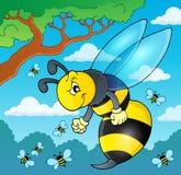 Wasp temabild 2 Royaltyfri Foto