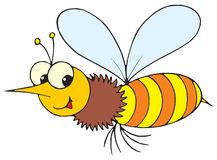 Wasp (vector clip-art) Stock Image
