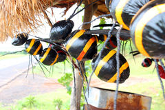 Wasps creative toy Stock Images