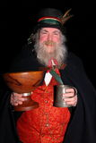 Wassail night. Occurs in January in England and is an age old tradition when the apple tree is blessed to give a good harvest particular in making cider Royalty Free Stock Photography