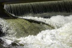 Wasser-Abbrüche Stockfotografie