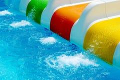 Wasser-Achterbahn Lizenzfreies Stockfoto