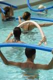 Wasser aerob Stockbild