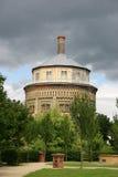 Wasser-alter Kontrollturm Nord und Ost Lizenzfreie Stockfotos