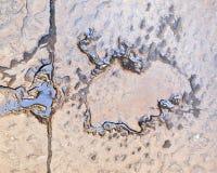 Wasser auf einem Stein Stockbilder