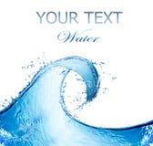 Wasser-Auszugs-Spritzen Lizenzfreie Stockbilder