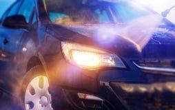 Wasser-Auto-Reinigung lizenzfreie stockfotos