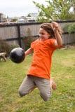Wasser-Ballon-Spaß 03 Stockfotos