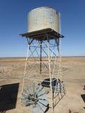 Wasser-Behälter, Longreach Stockbild