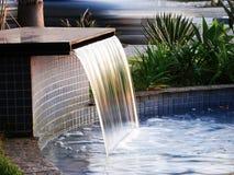Wasser-Blatt Lizenzfreie Stockfotografie